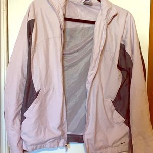 Lilac Nike Zip Up Size M